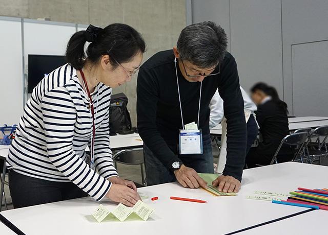 講師の宮永敏明さんと大川信子さん