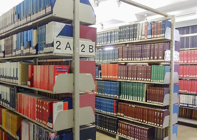 書庫の様子