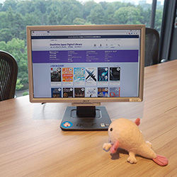 電子図書館で図書館をもっと身近に!メディアドゥをウパっちが直撃!